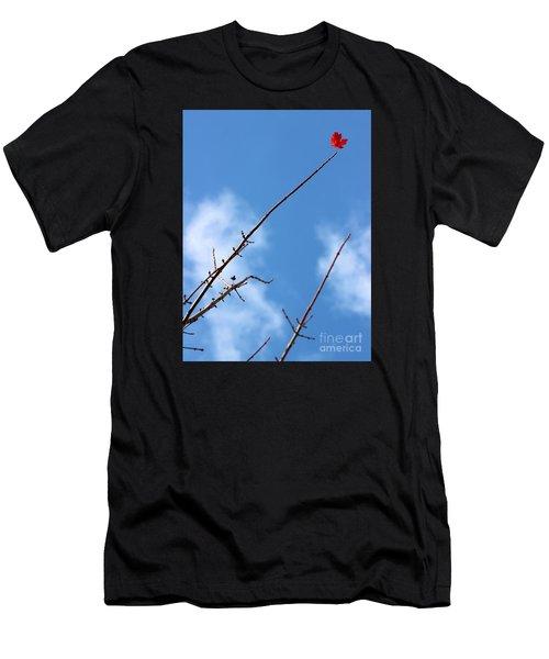 Last Leaf Standing Men's T-Shirt (Athletic Fit)