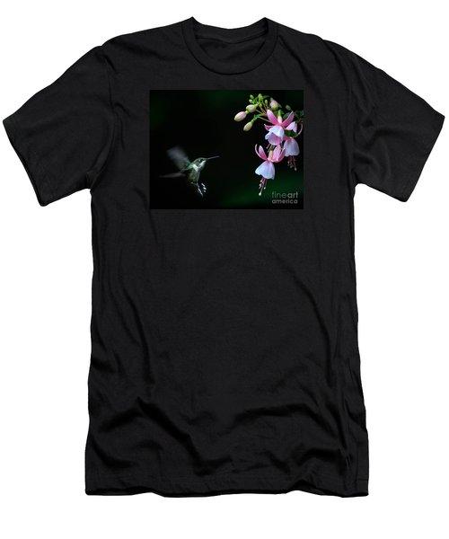 Last Light Men's T-Shirt (Slim Fit) by Amy Porter