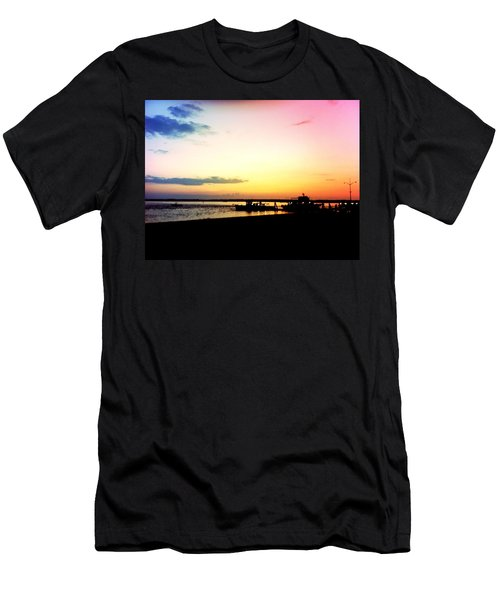 Men's T-Shirt (Slim Fit) featuring the photograph Last Light by Denyse Duhaime