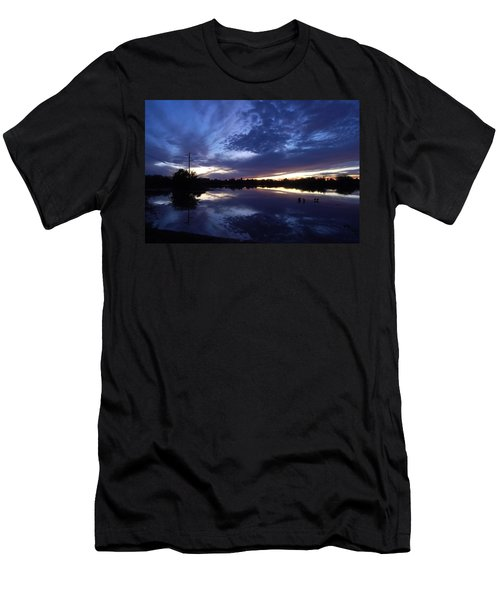Men's T-Shirt (Slim Fit) featuring the photograph Last Light by Tam Ryan