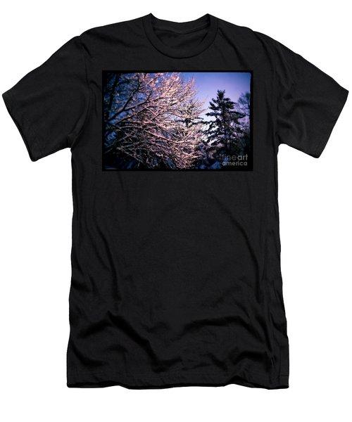 Last Peek Of Winter Sun Men's T-Shirt (Athletic Fit)