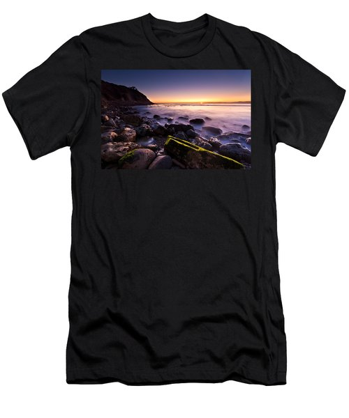 Men's T-Shirt (Slim Fit) featuring the photograph Last Ray by Mihai Andritoiu