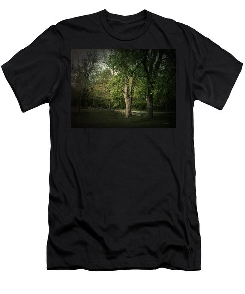 Men's T-Shirt (Slim Fit) featuring the photograph Late Day Drive by Cynthia Lassiter
