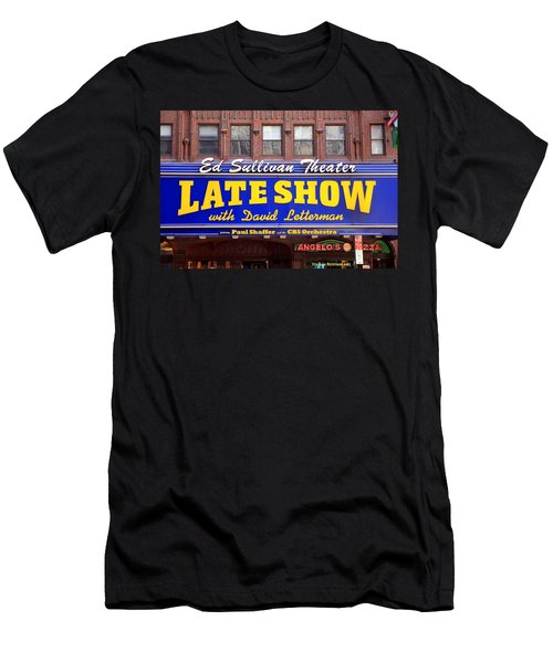 Late Show New York Men's T-Shirt (Slim Fit) by Valentino Visentini
