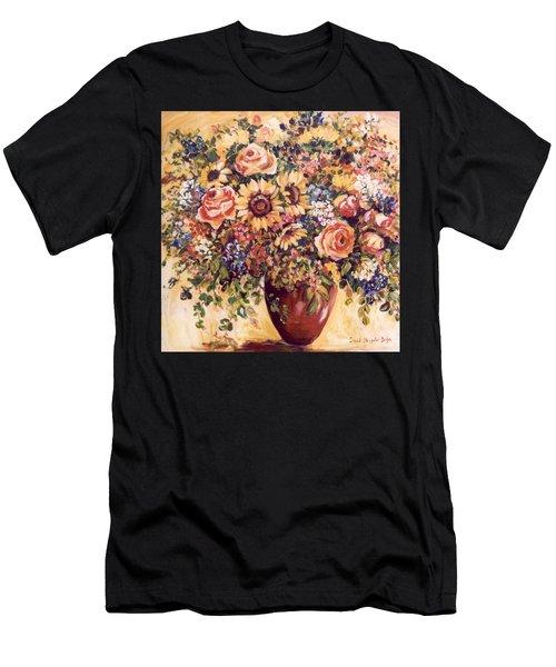 Late Summer Bouquet Men's T-Shirt (Athletic Fit)