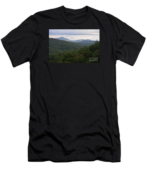 Men's T-Shirt (Slim Fit) featuring the photograph Laurel Fork Overlook II by Randy Bodkins