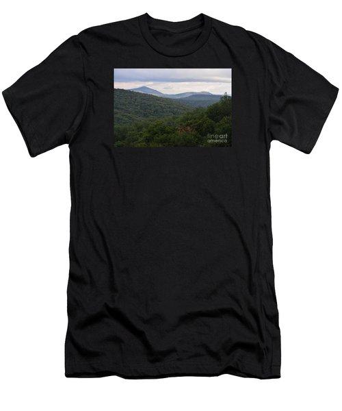 Laurel Fork Overlook II Men's T-Shirt (Slim Fit) by Randy Bodkins