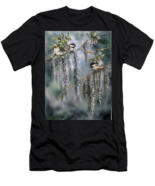 Laurel Meets Moss Men's T-Shirt (Athletic Fit)