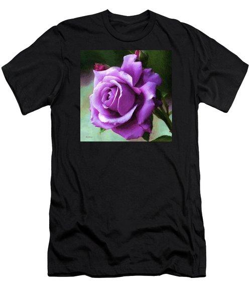 Lavender Lady Men's T-Shirt (Athletic Fit)