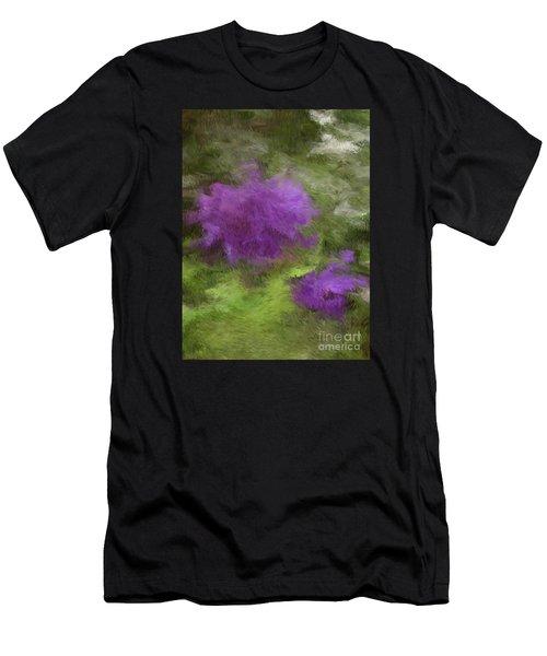 Monet Meadow Men's T-Shirt (Athletic Fit)