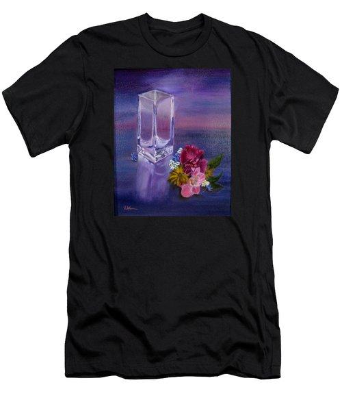 Lavender Vase Men's T-Shirt (Athletic Fit)