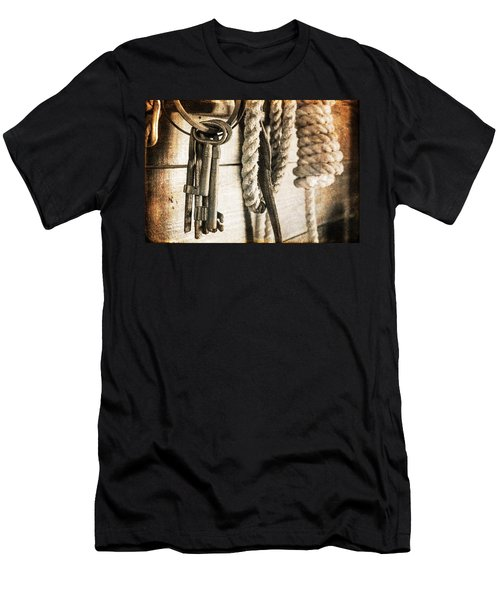 Law And Order Men's T-Shirt (Athletic Fit)