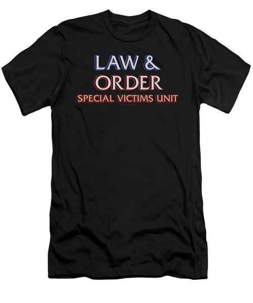 Law And Order Svu - Logo Men's T-Shirt (Athletic Fit)
