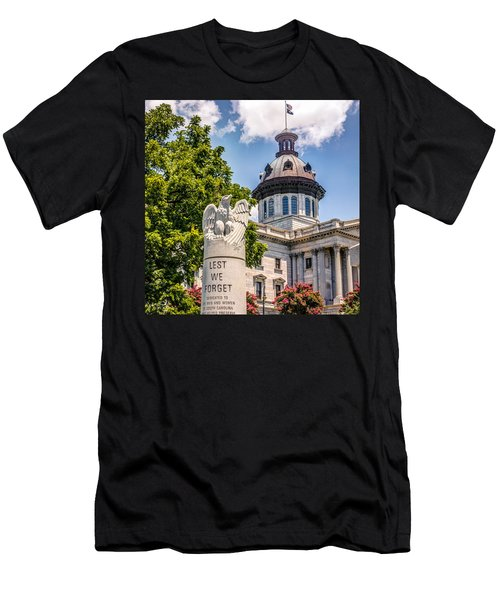 Men's T-Shirt (Slim Fit) featuring the photograph Law Enforcement Memorial by Rob Sellers