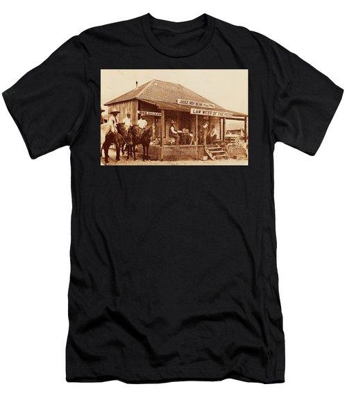 Law West Of The Pecos Men's T-Shirt (Athletic Fit)
