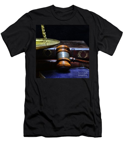Lawyer - Books Of Justice Men's T-Shirt (Athletic Fit)