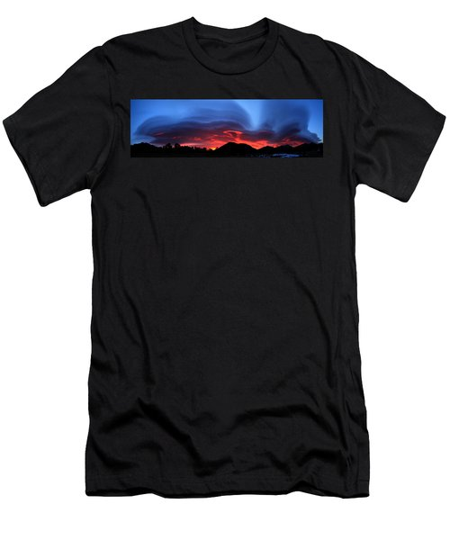 Layers In The Sky - Panorama Men's T-Shirt (Athletic Fit)