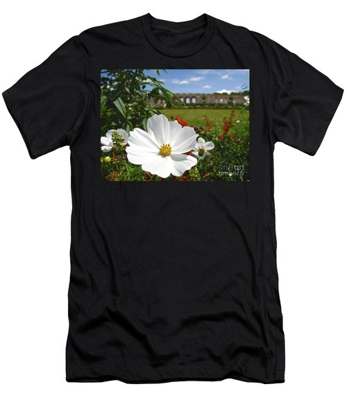 Men's T-Shirt (Slim Fit) featuring the photograph Le Fleur De Versailles by Suzanne Oesterling