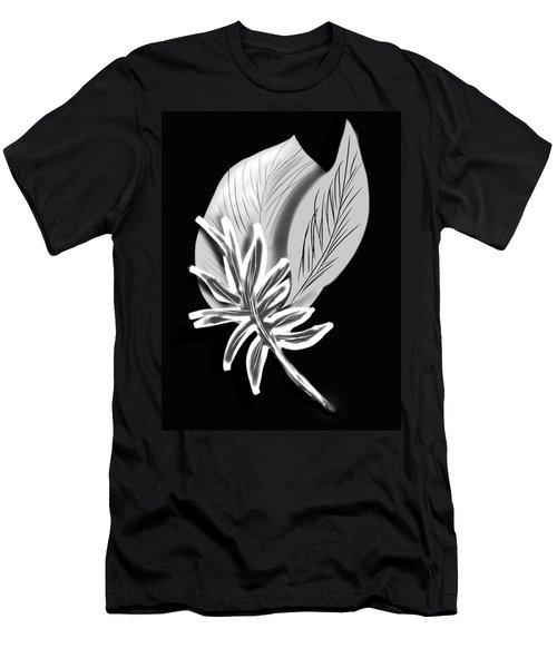 Leaf Ray Men's T-Shirt (Slim Fit) by Christine Fournier