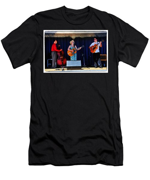 Men's T-Shirt (Slim Fit) featuring the photograph Leah And Her J Walkers by Mike Martin