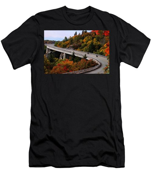 Lean In For A Ride Men's T-Shirt (Athletic Fit)