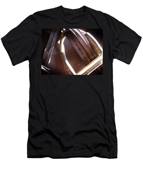 Leather And Iron Men's T-Shirt (Athletic Fit)