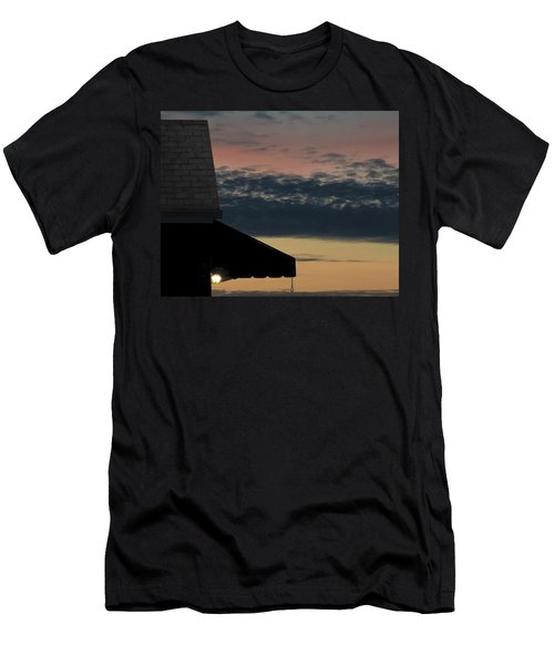 Leave The Light On Men's T-Shirt (Athletic Fit)