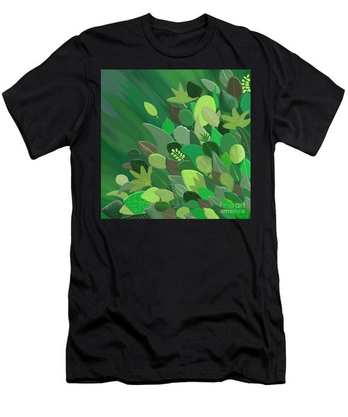 Leaves Are Awesome Men's T-Shirt (Athletic Fit)