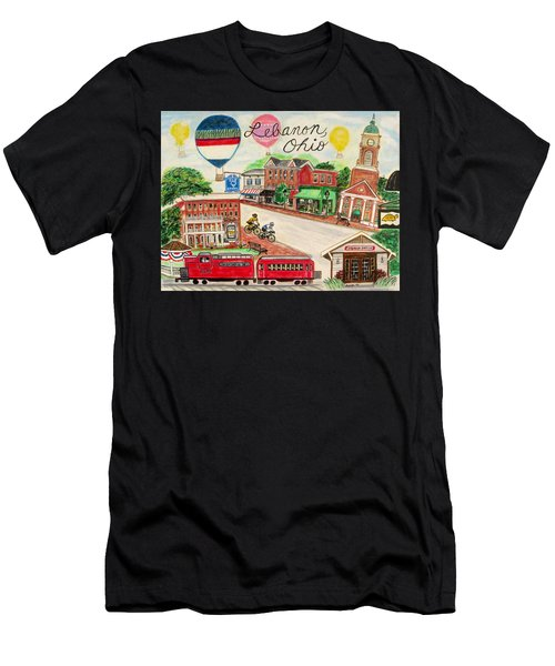 Lebanon Ohio Men's T-Shirt (Athletic Fit)