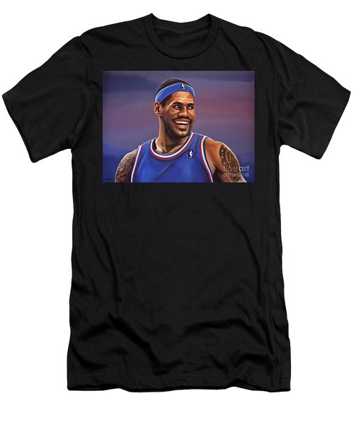 Lebron James  Men's T-Shirt (Athletic Fit)