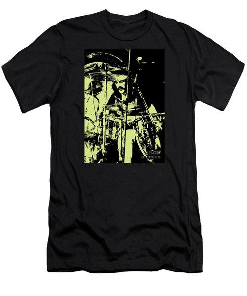 Led Zeppelin No.05 Men's T-Shirt (Slim Fit) by Caio Caldas