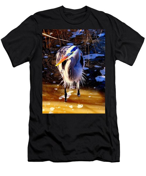 Men's T-Shirt (Slim Fit) featuring the photograph Legs by Faith Williams