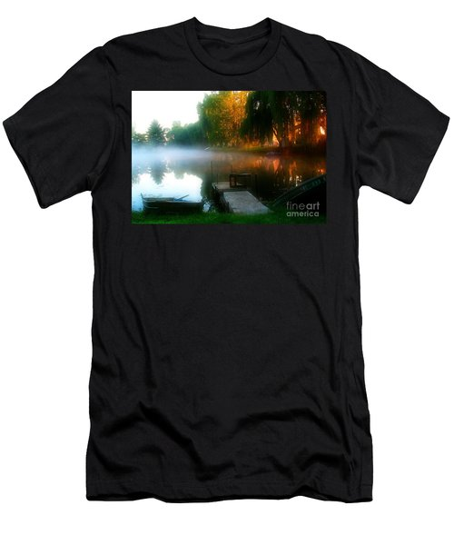 Leidy Lake Campground Men's T-Shirt (Athletic Fit)