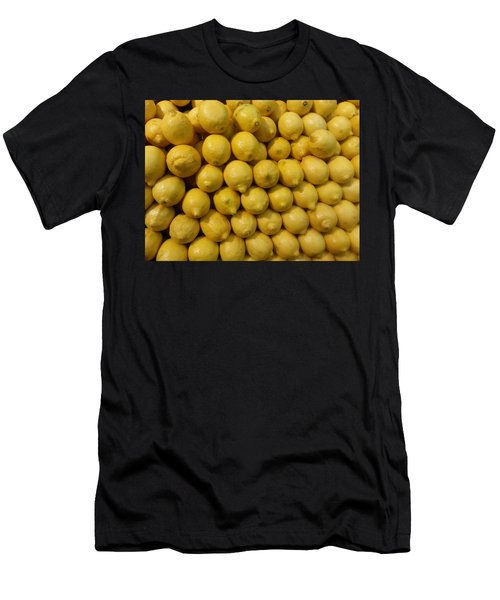 Lemon Drops Men's T-Shirt (Athletic Fit)