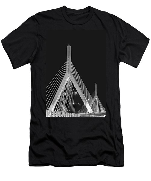 Leonard P. Zakim Bunker Hill Memorial Bridge Bw II Men's T-Shirt (Athletic Fit)