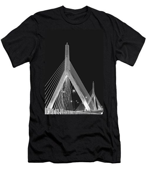 Leonard P. Zakim Bunker Hill Memorial Bridge Bw II Men's T-Shirt (Athletic Fit)