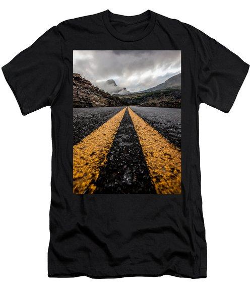 Less Traveled Men's T-Shirt (Athletic Fit)