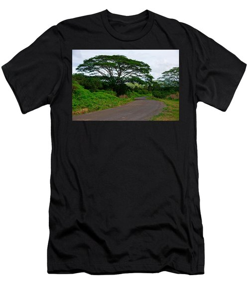 Less Traveled Road Men's T-Shirt (Athletic Fit)