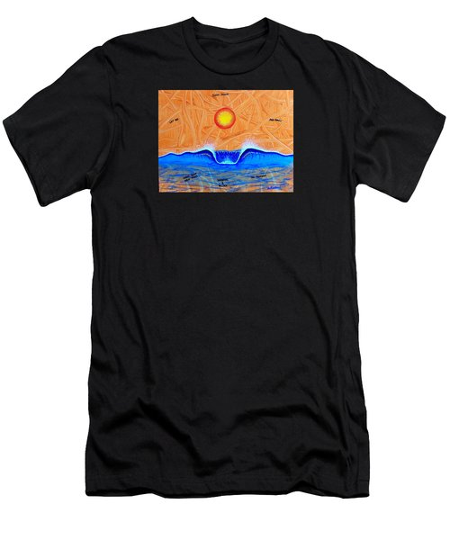 Let Go And Grow Men's T-Shirt (Athletic Fit)