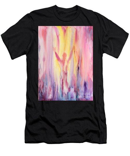 Let It Flow Men's T-Shirt (Athletic Fit)