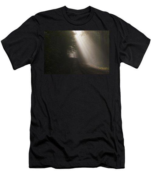 Let The Sun Shine Men's T-Shirt (Athletic Fit)