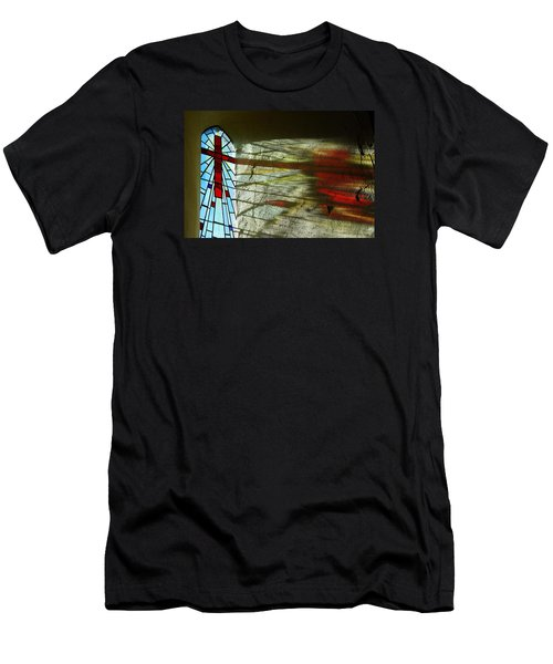 Men's T-Shirt (Slim Fit) featuring the photograph Let There Be Light by Wendy Wilton