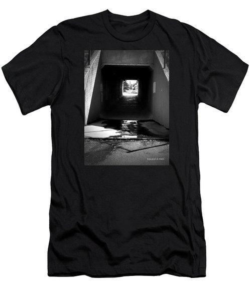 Lethbridge Underpass Men's T-Shirt (Athletic Fit)