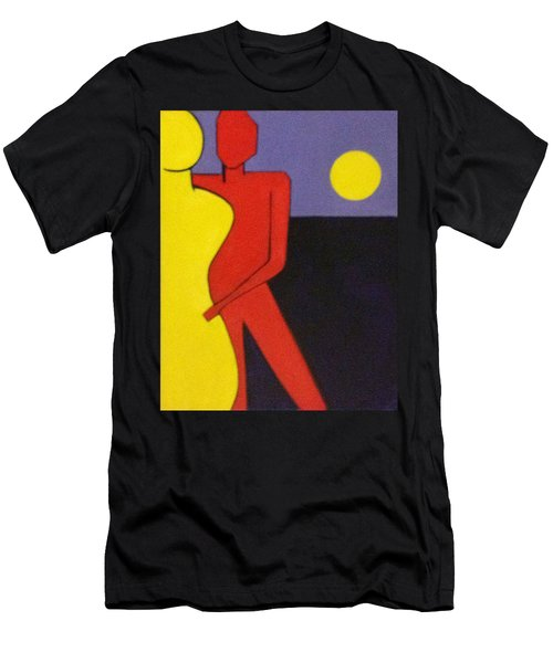 Let's Dance Men's T-Shirt (Slim Fit) by Patricia Cleasby