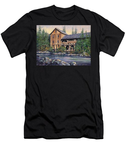 Lewisville Grist Mill Afternoon Men's T-Shirt (Athletic Fit)