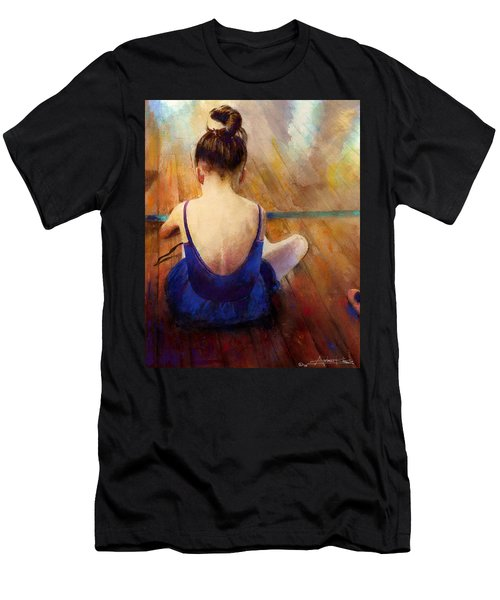 Men's T-Shirt (Athletic Fit) featuring the painting LG by Andrew King