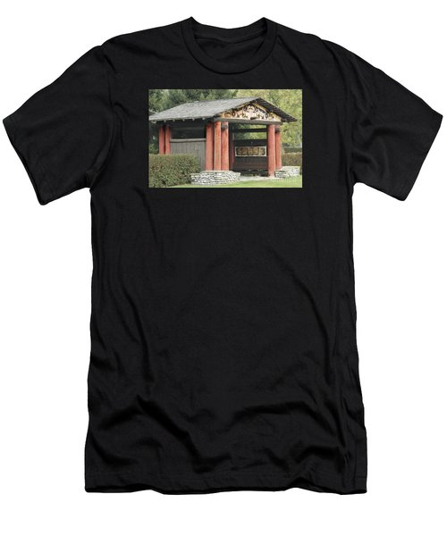 Lheit-li National Burial Grounds Entranceway Men's T-Shirt (Athletic Fit)
