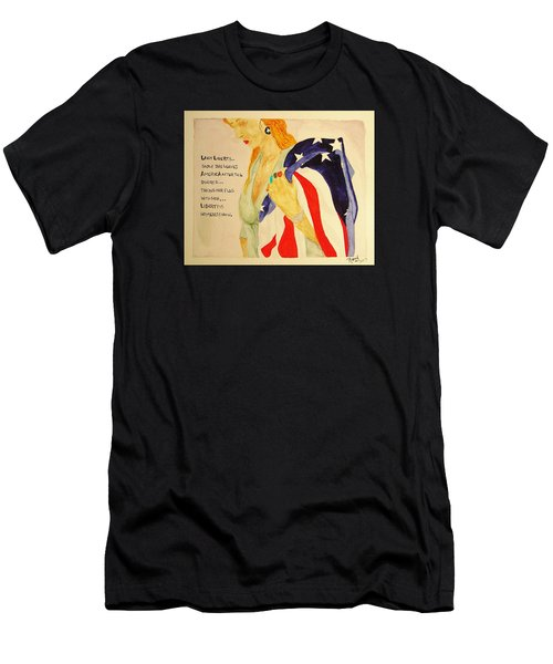 The Divorce Of Liberty Men's T-Shirt (Athletic Fit)
