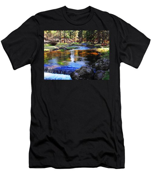 Life By A Babbling Brook Men's T-Shirt (Athletic Fit)