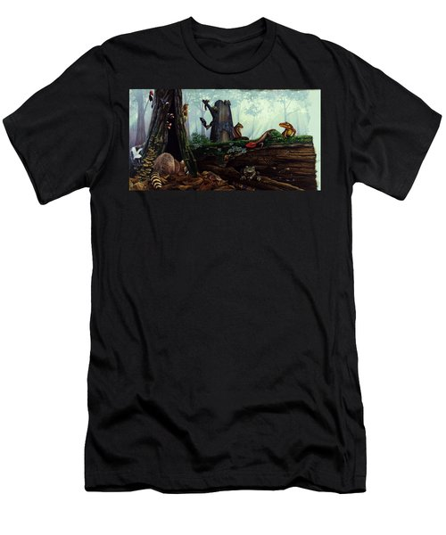 Life In A Dead Tree Men's T-Shirt (Athletic Fit)